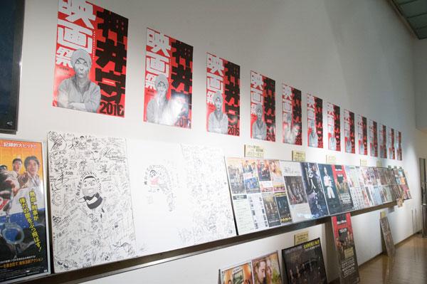 ▲「押井守映画祭2016」のために西尾鉄也描きおろしのポスターを作成